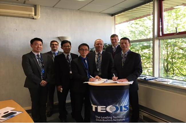 强强联手,科捷bwin安卓版与TecDis共建国际运营能力